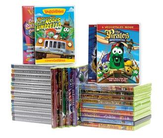 Veggie-Tales-Library