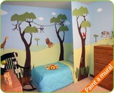 jungle-mural