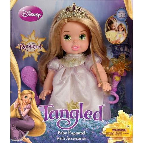 Tollytots Rapunzel Doll Amp Tangled Blu Ray Dvd Combo Pack
