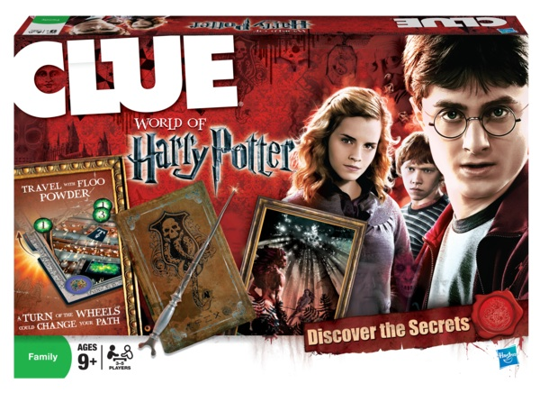 Jeux de Société Harry Potter Clue-HP