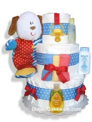 Perfect New Baby Gifts ~ Diaper Cakewalk Diaper Cake Review