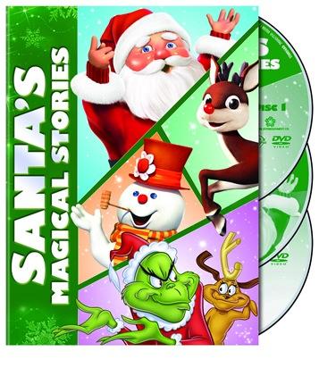 Santa's Magical Stories 2D Box Art