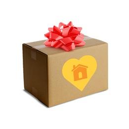 box plus ribbon