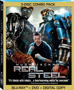 Real Steel 3-disc C_6DE79DB