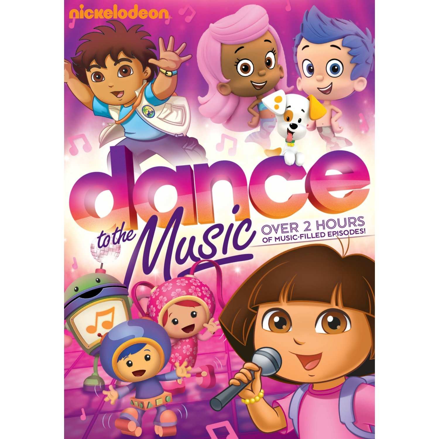 Nickelodeon Favorites Dance To The Music Available On Dvd