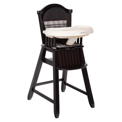 Astonishing Bragging Baby Shower Eddie Bauer Fairview Wooden High Chair Short Links Chair Design For Home Short Linksinfo