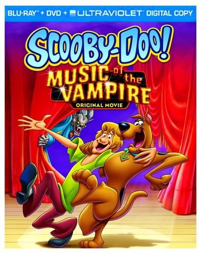 Scooby Doo Music of the Vampire 2D Box Art BD