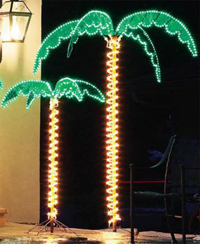 Lights For Summer Christmas Lights Etc Lighted Palm