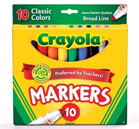 CrayolaMarkers_Classic10Count