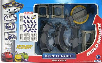 Chuggington Die-Cast Railway 10-in-1 Layout Track Pack Review and ...