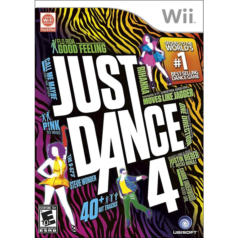 Brag Worthy Christmas ~ Just Dance 4 Nintendo Wii Game Review