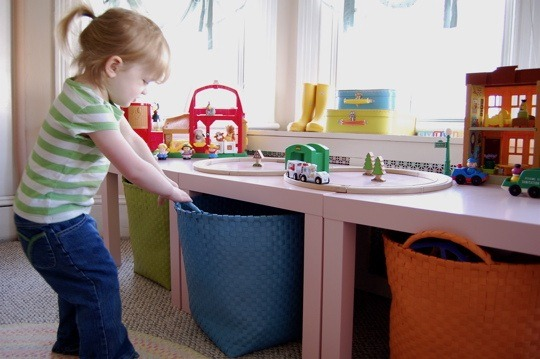 Making Tidying Up Fun For Your Kids