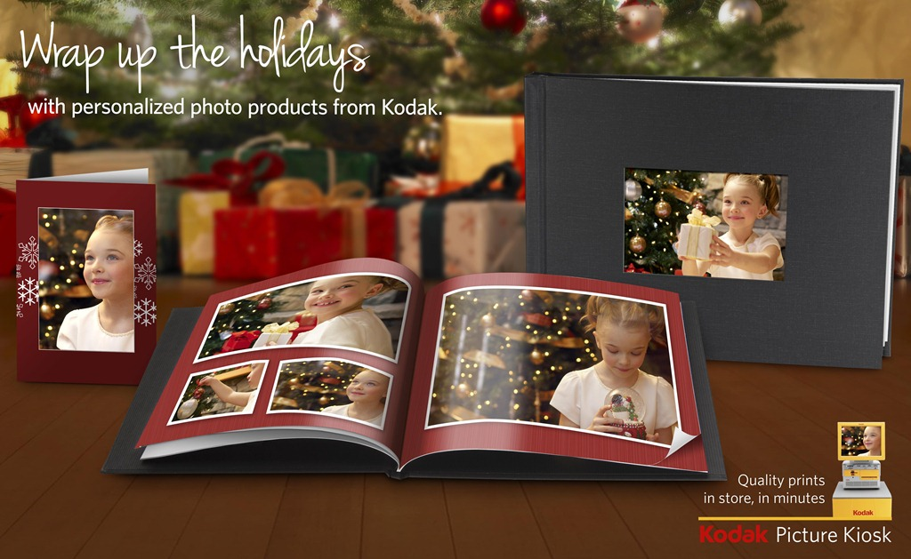 Giving creative, unique, and personalized gifts is more important than ever. KODAK Picture Kiosk makes it easy and more affordable to transform all those ...