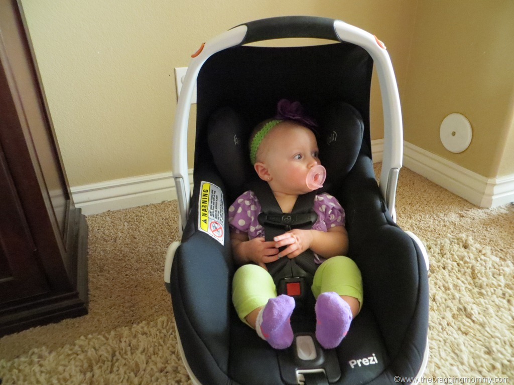 The Maxi CosiR PreziTM Infant Car Seat Doesnt Just Provide Your Little One With Safety You And Can Travel In Style Comfort