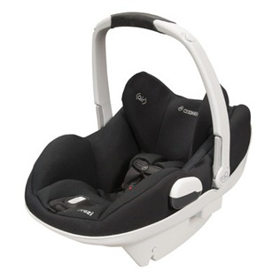 Prezi Infant Car Seat White Collection