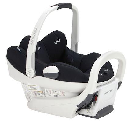 Maxi-Cosi Prezi Infant Car Seat White Collection Review