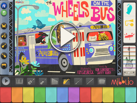 Mibblio children s musical storybook app for ipad review for Storybook nanny