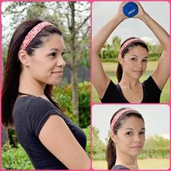 red-white-skinny-sports-headband-model