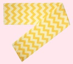 yellow-chevron-print-tie-back-scarf-headband