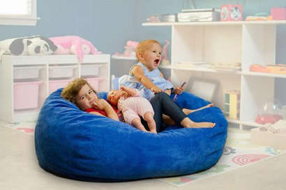 A Bean Bag Chair With A Bed Inside Cordaroy S Bean Bag