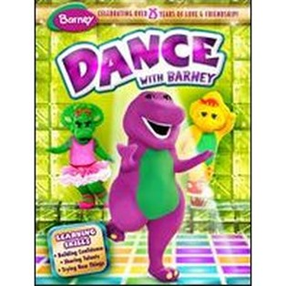 Barney Read With Me Dance With Me Dvd