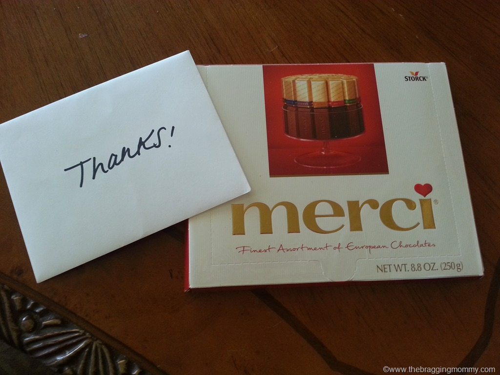 Say Thank You to a Teacher with Merci Chocolates + Teacher Gift ...