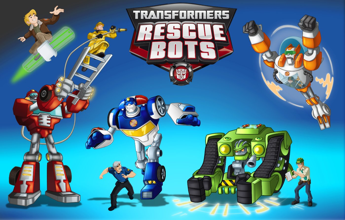 Transformers Rescue Bots: Energize DVD Available Now