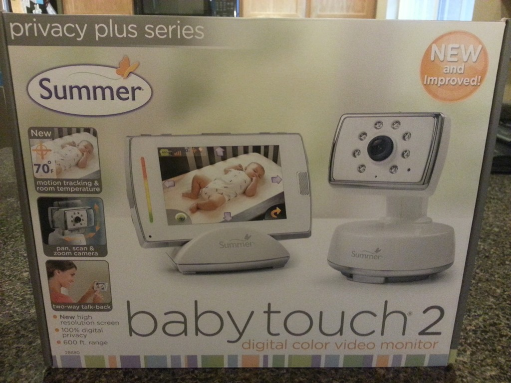 summer infant babytouch 2 digital color video monitor review and giveaway closed. Black Bedroom Furniture Sets. Home Design Ideas