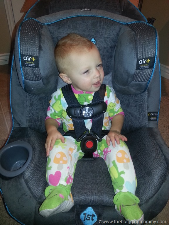 Safety 1st Advance 70 Air + Convertible Car Seat Review and Giveaway