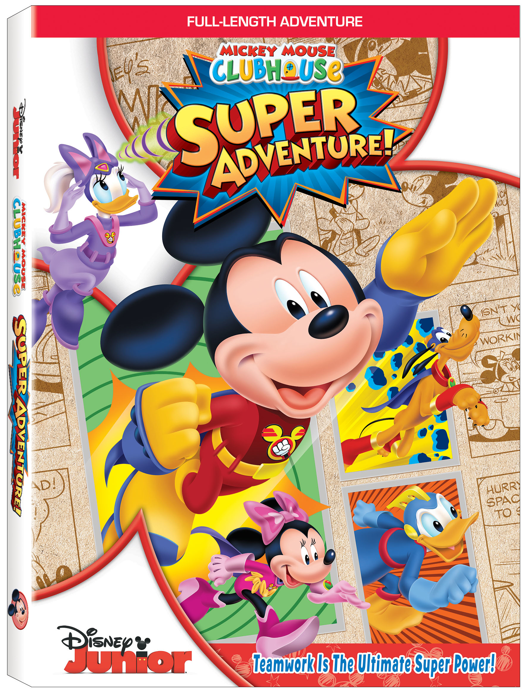 mmch super adventure dvd art my girls absolutely love mickey mouse clubhouse - Mickey Mouse Clubhouse Christmas