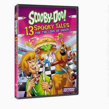 scooby doo 13 spooky tales love of snacks