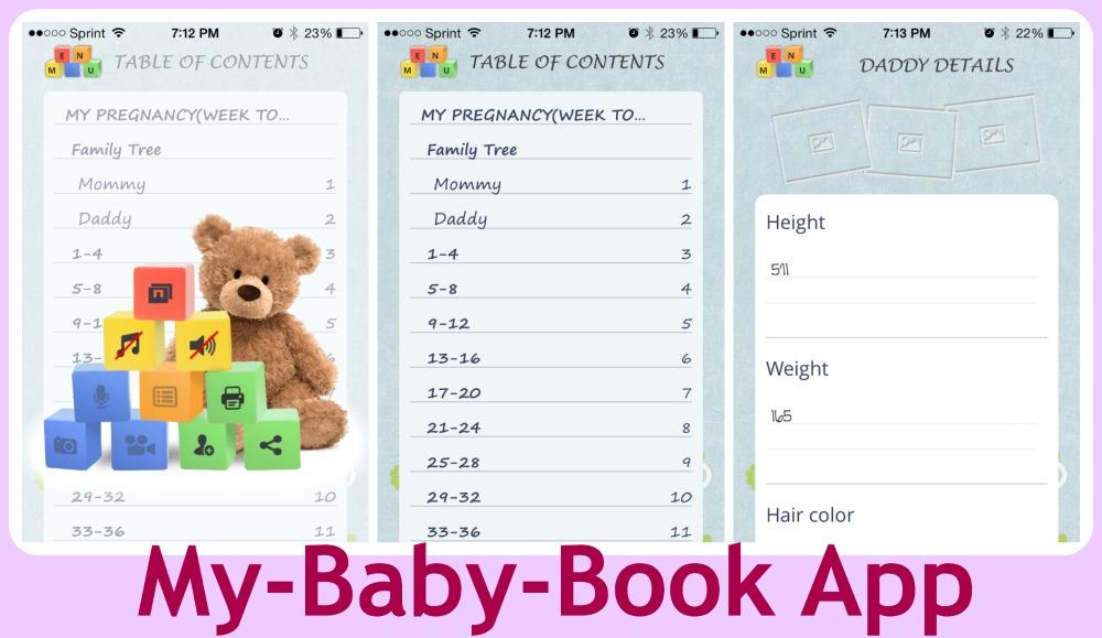 babybook Collage