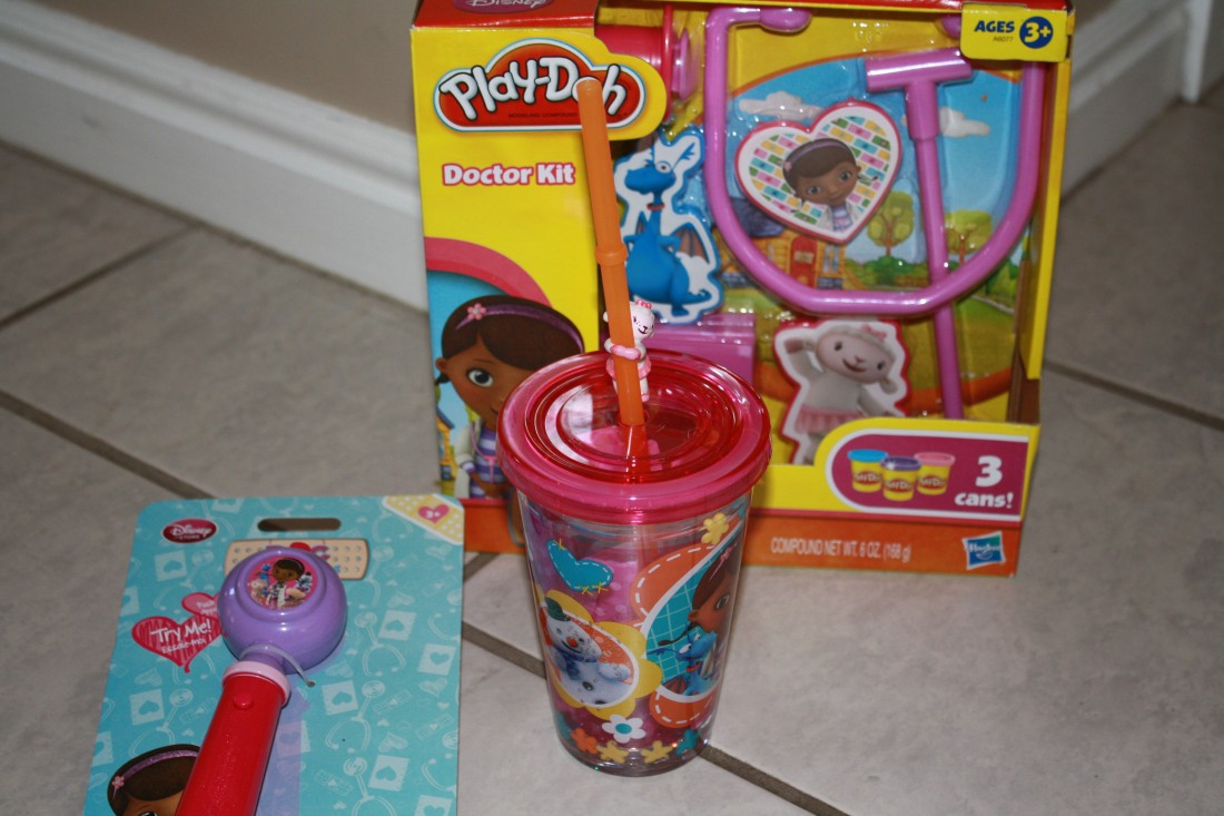 Doc McStuffins Mobile Clinic DVD and Toys Prize Pack Giveaway