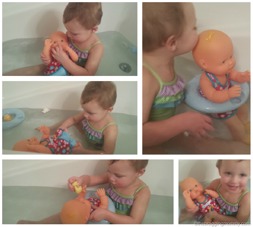 Splish Splash Doll Fun in the Bath ~ Nenuco Bath Time Doll Set Review