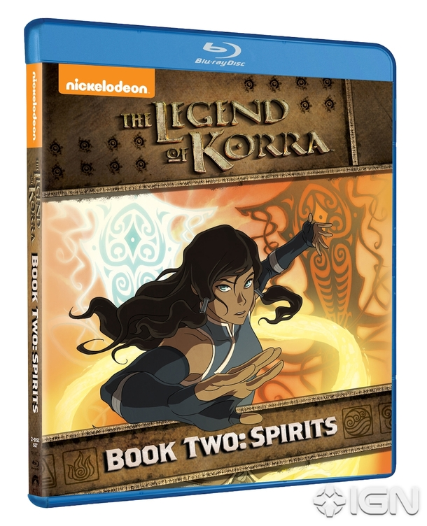 The Legend Of Korra- Book Two: Spirits Now On Blu-ray And DVD