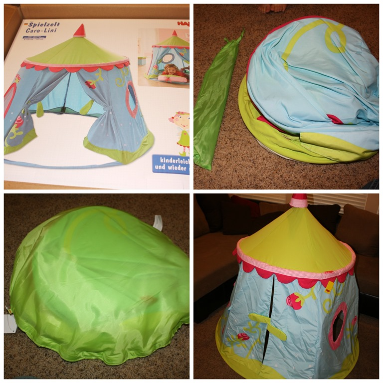 PicMonkey Collage11 & Playing Princess with the Caro Lini Play tent from HABA Review