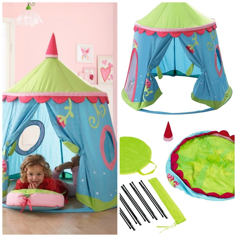 PicMonkey Collage  sc 1 st  Bragging Mommy & Playing Princess with the Caro Lini Play tent from HABA Review
