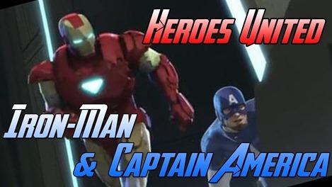 iron man captain america heroes unite