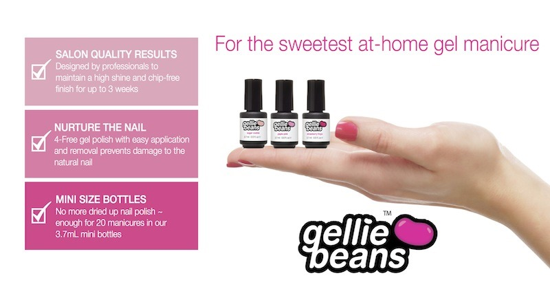 Get Salon type Gel Nails at Home with Gelliebeans Review!