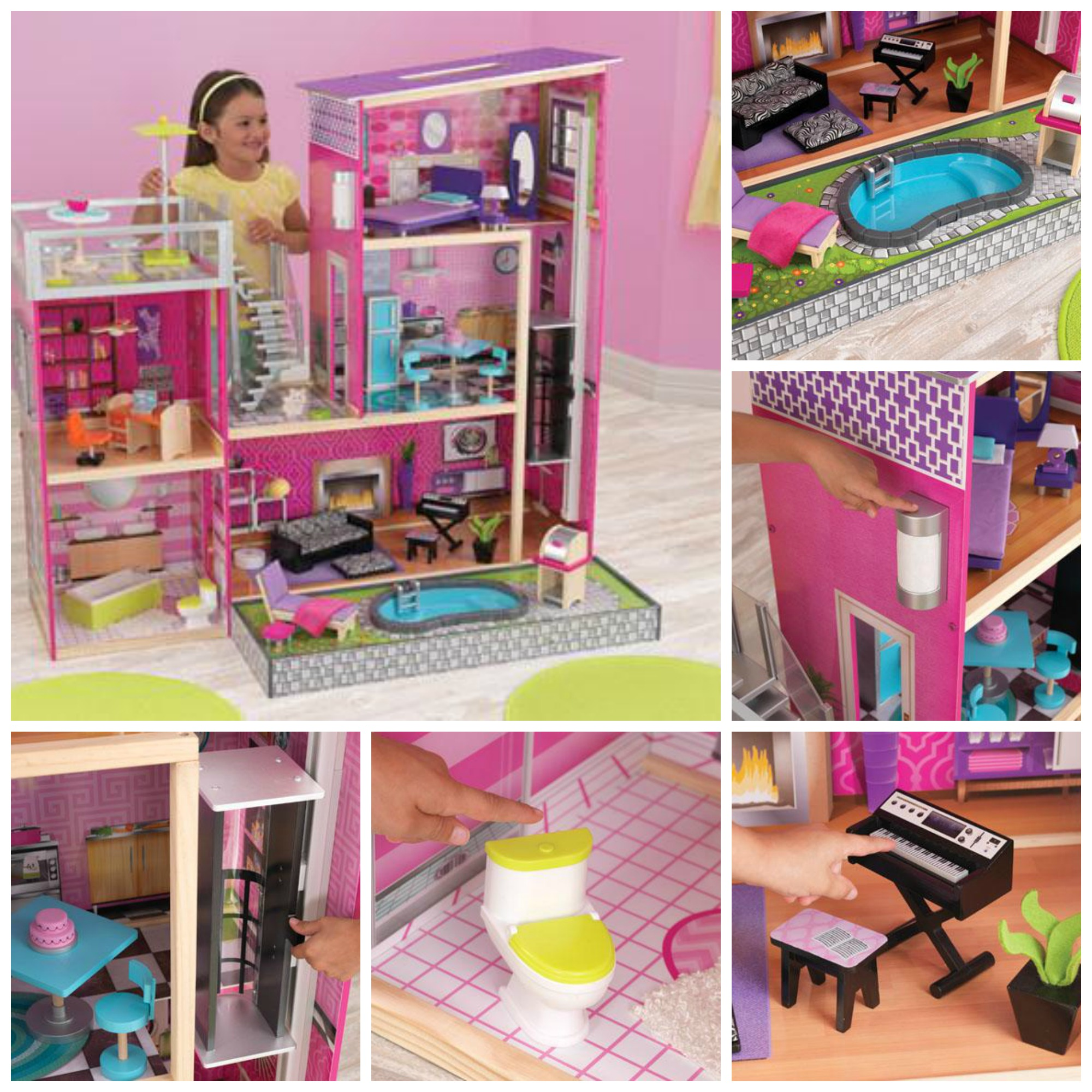 uptown dollhouse by kidkraft review