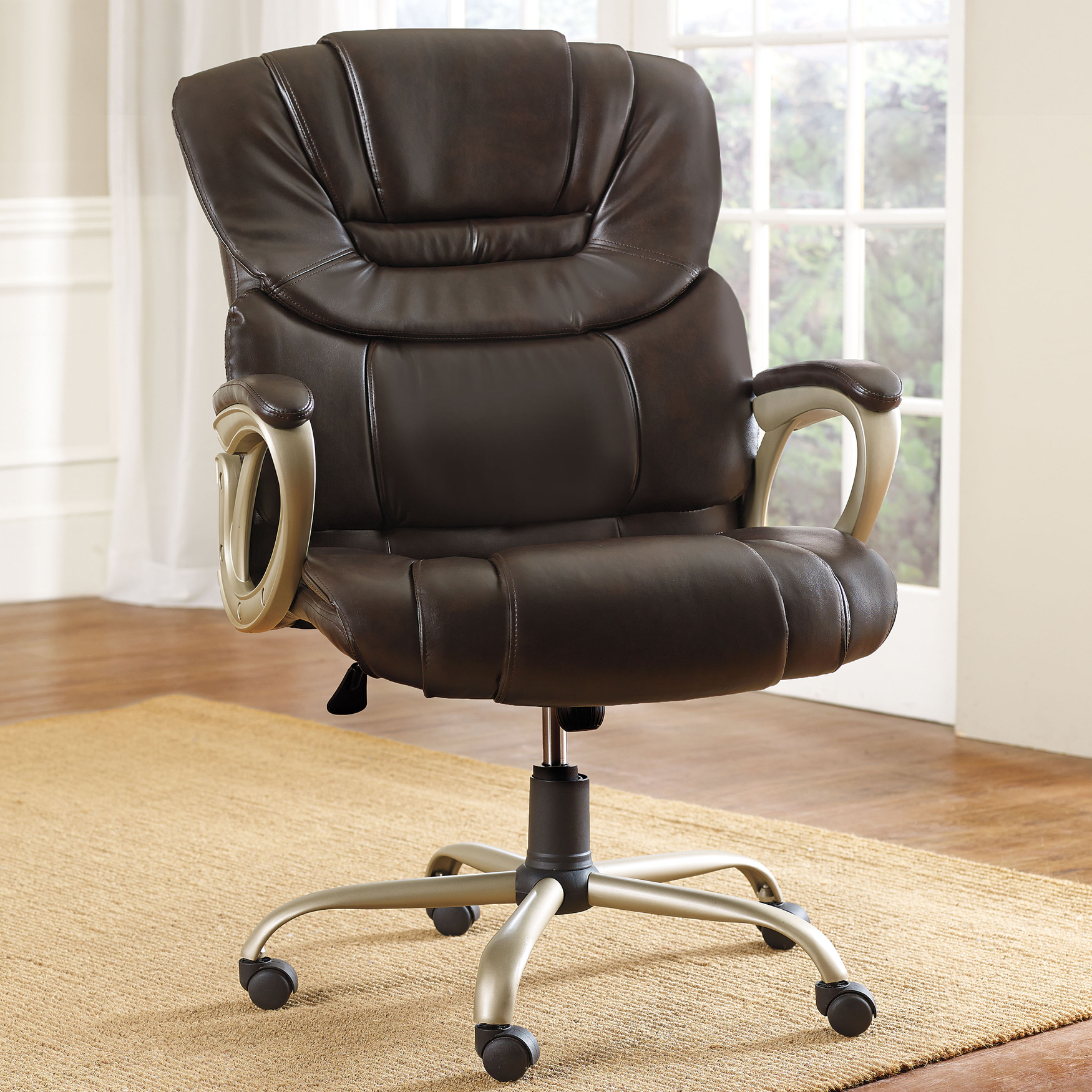 Plus Size Office Chairs Plus Size Living Collection Extra Wide Padded Executive Office Chair