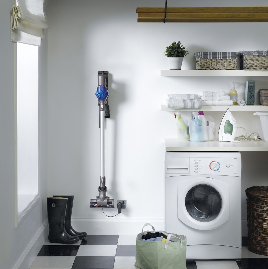 Dyson Digital Slim in pantry