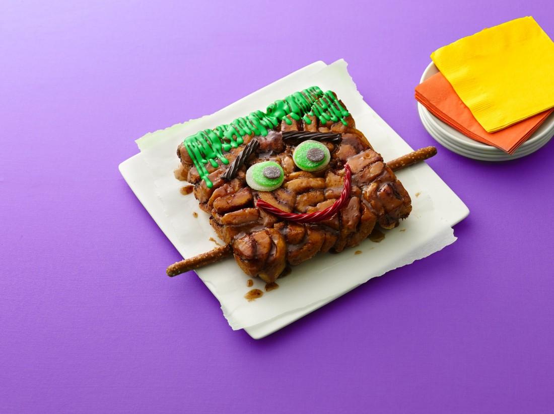 Frankenstein Monkey Bread
