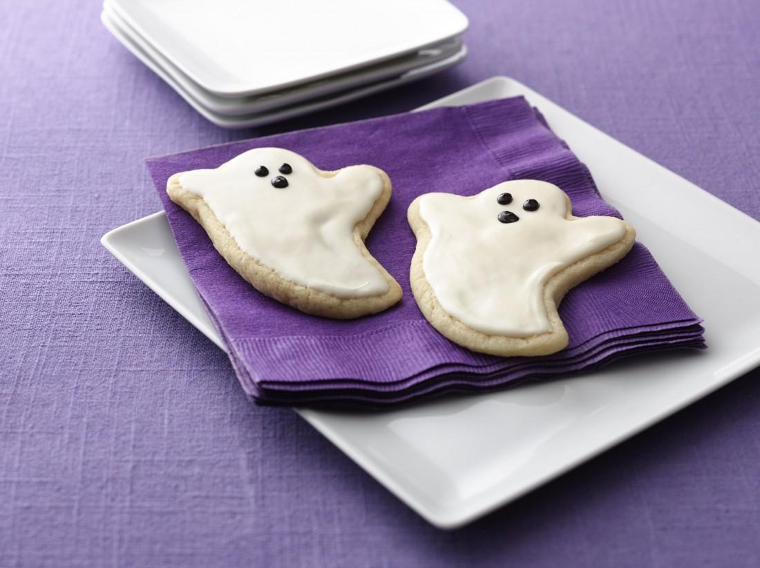 Ghost Sugar Cookie Cutouts