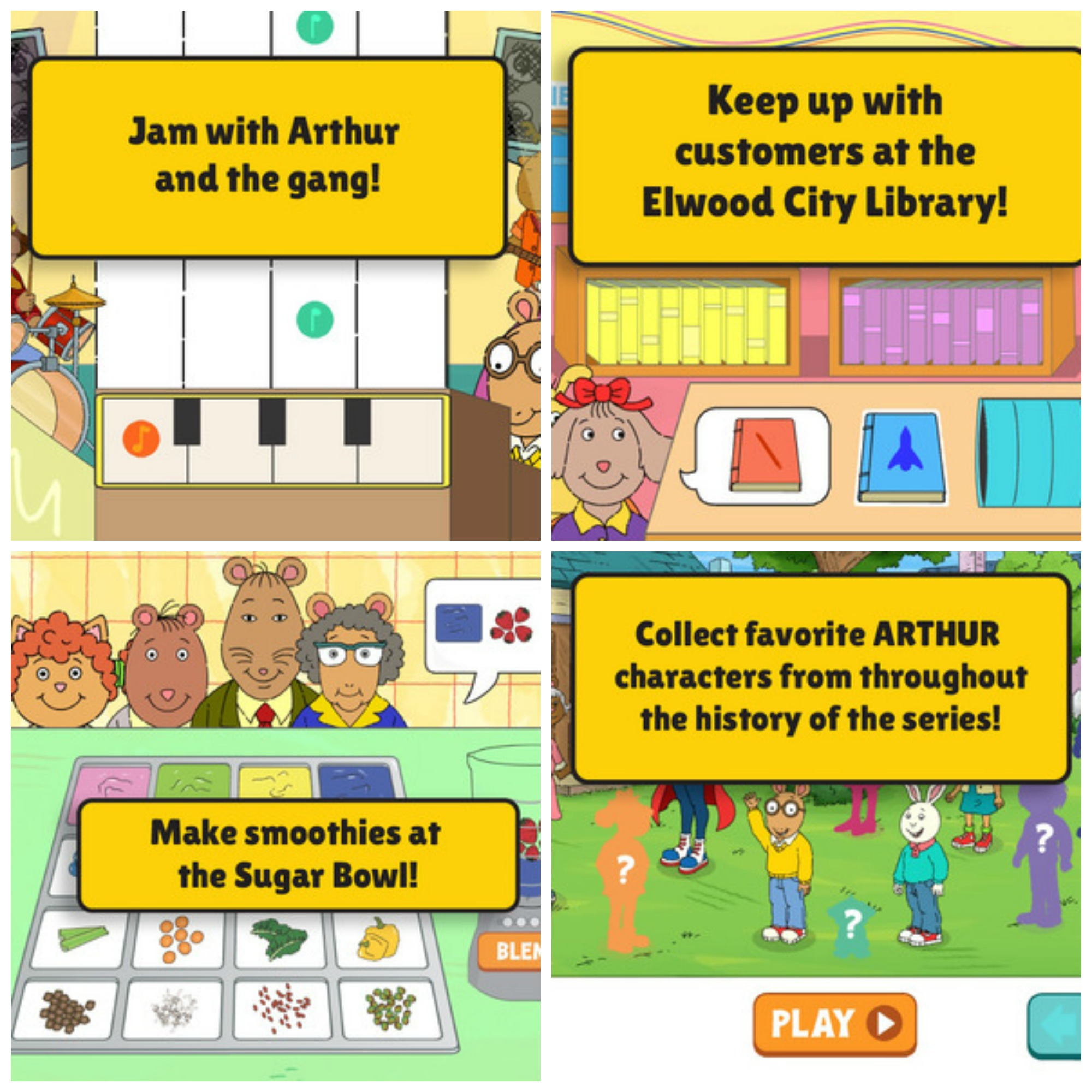 Arthur S Big App By Pbs Kids Now Available On Itunes And Android Devices Bragging Mommy
