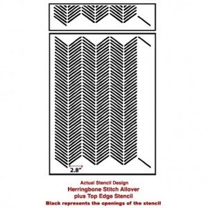 herringbone-stitch-wall-pattern-stencil-DIY-home-decor-actual