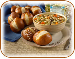 rolls-soup