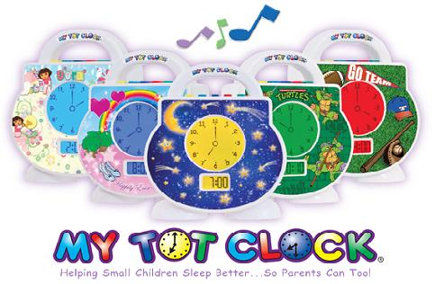 1411100806My Tot Clock - 5 Colors - 485 Pixels
