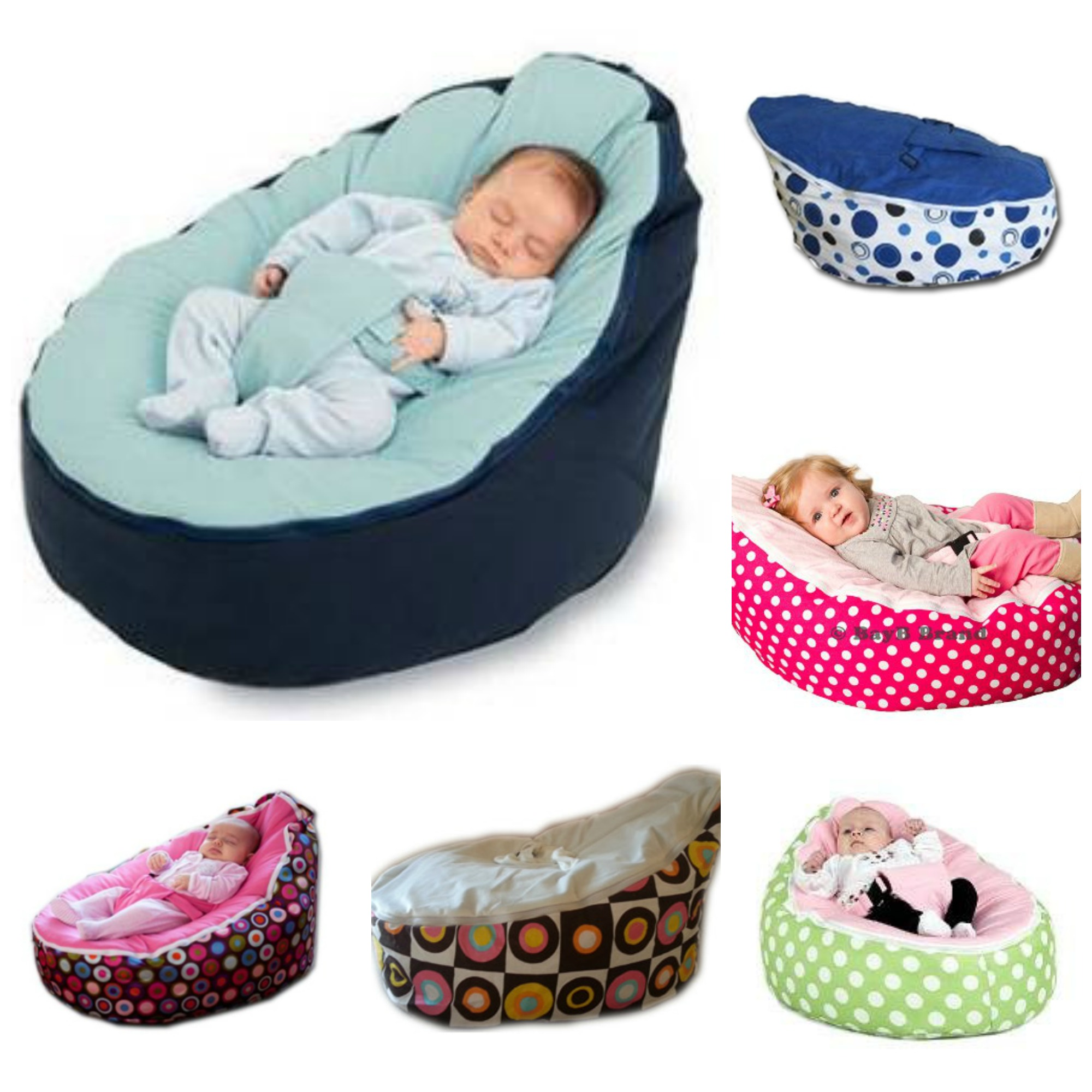 Baby bean bag chair - Picmonkey Collage