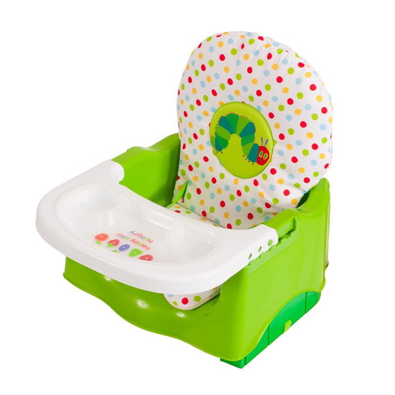 Creative Baby The World of Eric Carle Happy & Hungry Booster Seat Available at Burlington Coat Factory